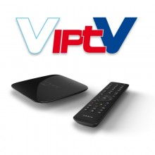 VIP TV VIP1113 Set Top Box and Subscription 12 Months