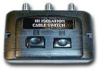 2 Way Manual LNB Switch