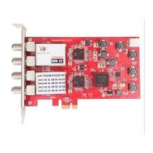 TBS6905 DVB-S2 Quad Tuner HD Satellite PCI Express Card