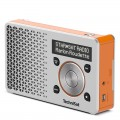 Technisat DigitRadio 1 DAB+ Rechargeable Radio with FM Silver/Orange