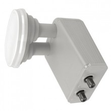 Maximum 0.1dB 3 Degree Monoblock LNB Twin