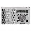 Technisat DigitRadio 1 DAB+ Rechargeable Radio with FM White/Silver