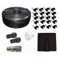 Satellite Aerial RG6 Coax Cable Kit Black 25m