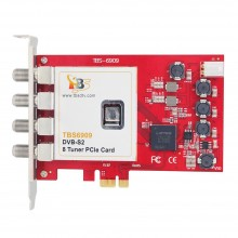 TBS6909 Professional DVB-S2 Octo Tuner HD Satellite PCIe Card