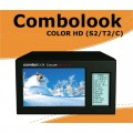 Combolook Color HD DVB-S2 / DVB-T2 / DVB-C Spectrum Analyer by Emitor Sweden