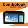 Combolook Color HD DVB-S2 / DVB-T2 / DVB-C Spectrum Analyer by Emitor Sweden