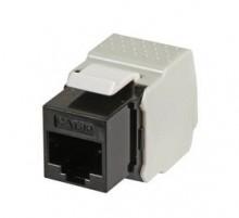 Tool-less RJ45 socket