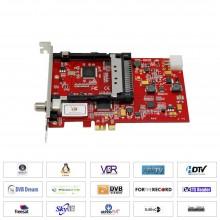 TBS6928SE DVB-S2 CI Satellite PCI Express Card