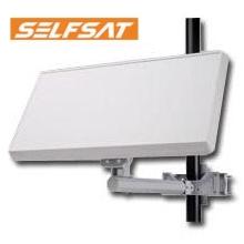 Selfsat Quad Output LNB Flat Antenna