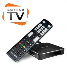 Kartina X Set Top Box and Learning Remote