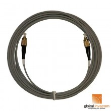 Global Invacom Fibre Optic Armoured Patch Cable Pre-Terminated