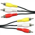 RCA Phono AV Male to Male Audio Video Cable Lead