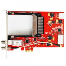 TBS6991 DVB-S2 CI Satellite PCI Express Card