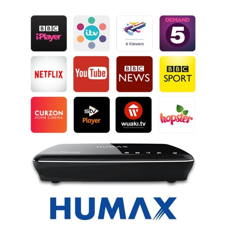 Humax HDR-1100S 500GB Freesat HD Digital TV Record