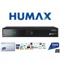 Humax Tivumax Easy HD-5400S Official Tivusat HD Set Top Box and Card