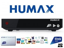 Humax Tivumax HD-6600S Official Tivusat HD Set Top Box and Card