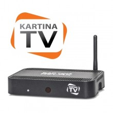Kartina Relax HD Russian IPTV Set Top Box by Dune