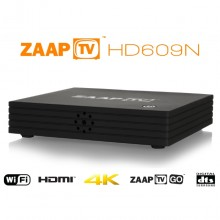 Zaap TV HD609N with Zaap TV GO