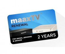 Maax TV Device Renewal - 2 Year