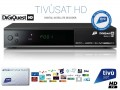 Tivusat Digiquest HD Official Italian Receiver and Card
