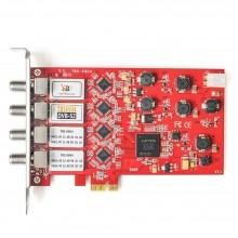 TBS6904 DVB-S2 Quad Tuner HD Satellite PCI Express Card