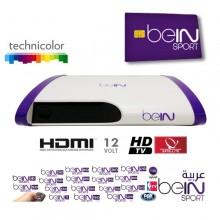 beIN Sport Arabia Official 12 Month Smartcard and beIN HD Receiver