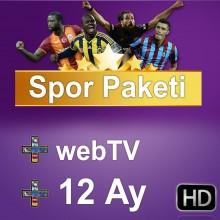 Digiturk TV + Web Sport Package 12 Months