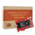 TBS6290SE DVB-T2/T/C Dual Tuner Dual CI TV Tuner PCI Express Card