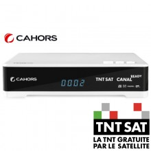 Cahors TeOx HD TNT SAT Official Decoder and Card