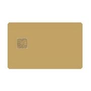 PULSAT COM - GOLD WAFER CARD - SATELLITE TV BLANK SMARTCARDS
