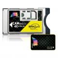 TivuSat Official Italian Digital TV Black 4K UHD Ready CAM and Card