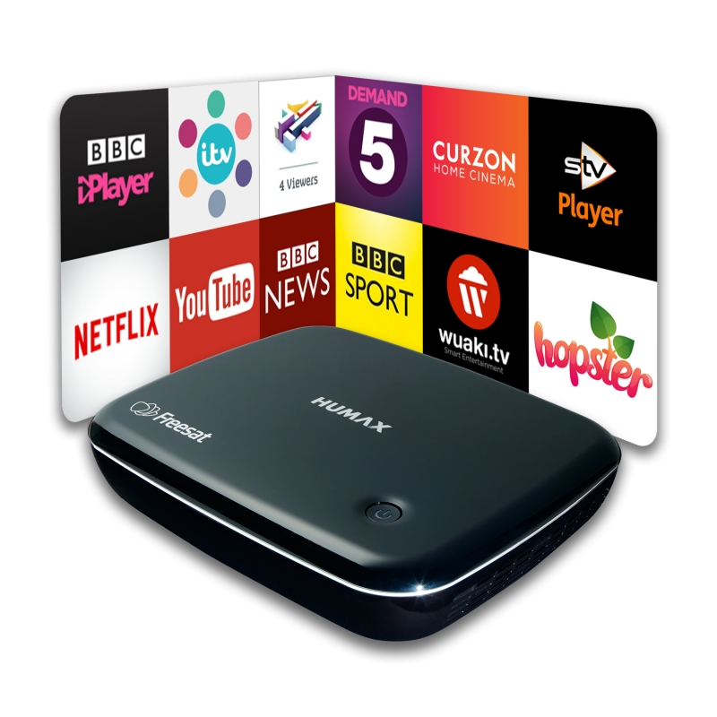 Humax HB-1100S Smart Freesat HD Receiver with Wifi
