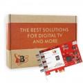 TBS6522 Multi Standard Dual TV Tuner PCI Express Card