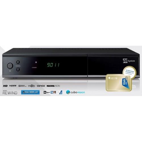 PULSAT COM - TIVUSAT TELESYSTEM TS9011HD OFFICIAL ITALIAN HD DIGITAL