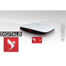 Digitalb HD - Albanian TV Package including HD Set Top Box