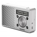 Technisat DigitRadio 1 DAB+ Rechargeable Radio with FM Silver/Silver