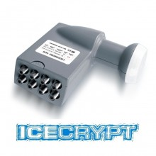 Icecrypt Eight (Octo) Output 0.3dB Universal LNB