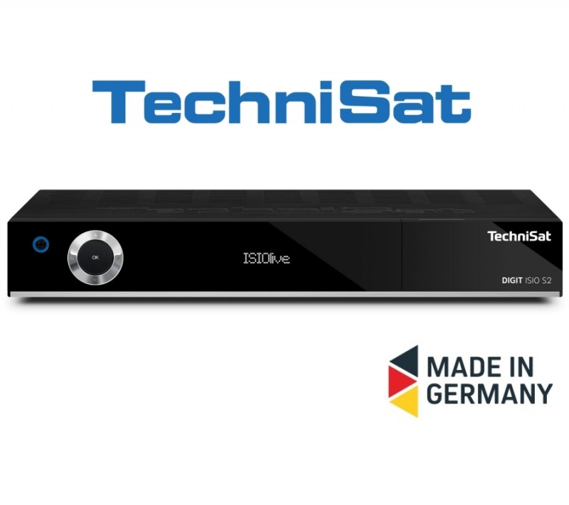 TechniSat DIGIT ISIO S2 CI+ Twin Tuner PVR Ready HD Digital
