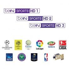 beIn Sport Three Channel Sports Package via Eutelsat 5 West A