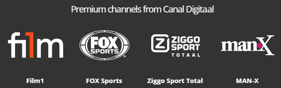 Canal Digitaal Premium Options