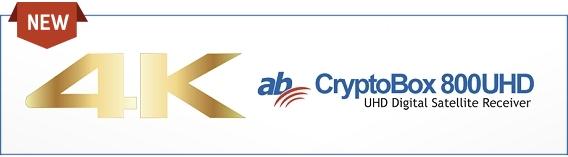 AB Cryptobox 800 UHD Ultra HD 4K Satellite Receiver
