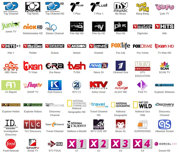 Digitalb HD Channels