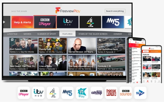 Freeview Play with Humax Aura