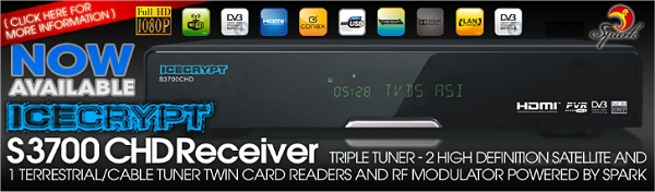 The Icecrypt S3700CHD Triple Tuner