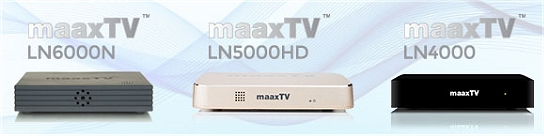 Maax TV Set Top Boxes
