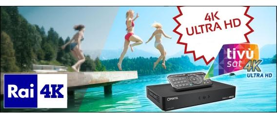 Opentel UHD 4000 Tivusat