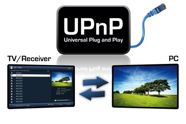 UPnP - Great for remote viewing and recording