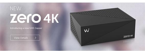 VU+ ZERO 4K UHD DVB-S2X