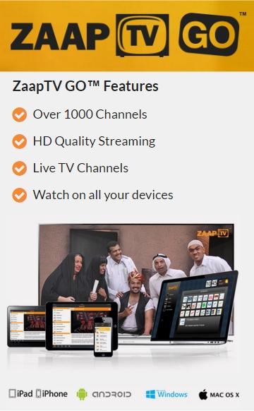 Zaap TV GO