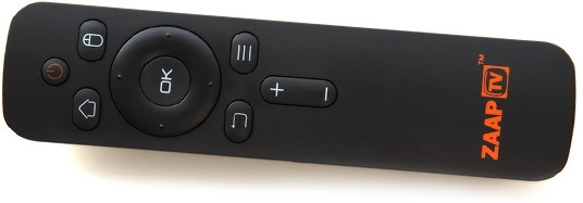 Zaap TV HD609N Bluetooth Remote